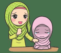 Flower Hijab 3 sticker #7583828