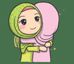 Flower Hijab 3 sticker #7583829