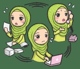 Flower Hijab 3 sticker #7583830
