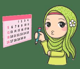 Flower Hijab 3 sticker #7583831
