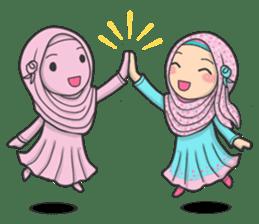 Flower Hijab 3 sticker #7583833