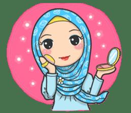Flower Hijab 3 sticker #7583838