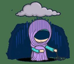 Flower Hijab 3 sticker #7583842