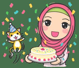 Flower Hijab 3 sticker #7583845