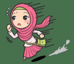 Flower Hijab 3 sticker #7583847