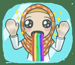 Flower Hijab 3 sticker #7583850