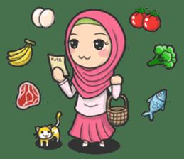 Flower Hijab 3 sticker #7583852