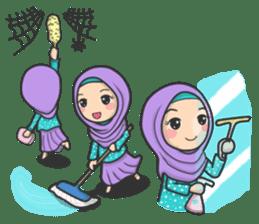 Flower Hijab 3 sticker #7583856