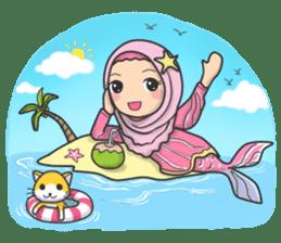 Flower Hijab 3 sticker #7583859