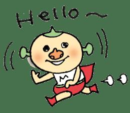 SUPER M BOY (English) sticker #7593100
