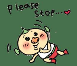 SUPER M BOY (English) sticker #7593101