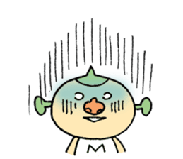 SUPER M BOY (English) sticker #7593112