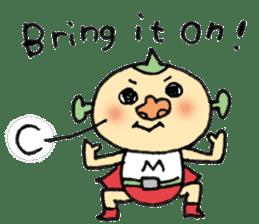 SUPER M BOY (English) sticker #7593115