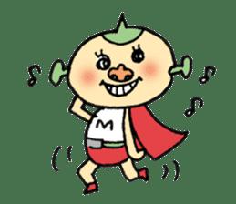 SUPER M BOY (English) sticker #7593116