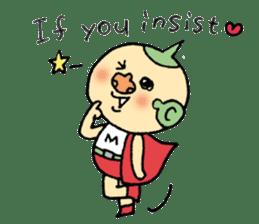 SUPER M BOY (English) sticker #7593117