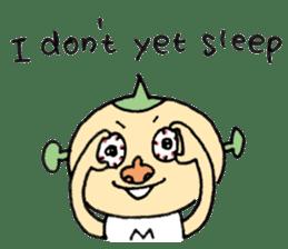 SUPER M BOY (English) sticker #7593126