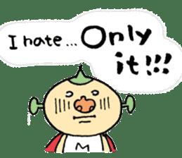 SUPER M BOY (English) sticker #7593129