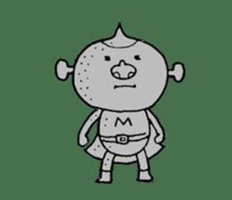 SUPER M BOY (English) sticker #7593132