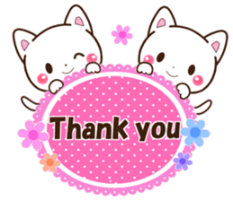 Good friend Animals for you in English sticker #7596140