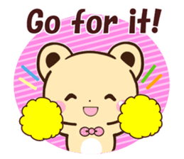 Good friend Animals for you in English sticker #7596154