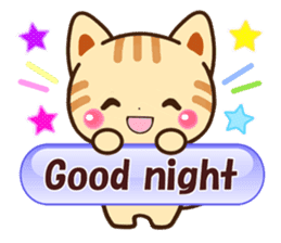 Good friend Animals for you in English sticker #7596160