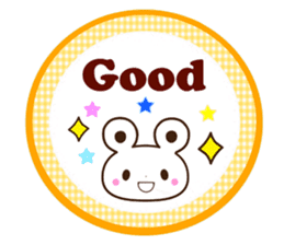 Good friend Animals for you in English sticker #7596174