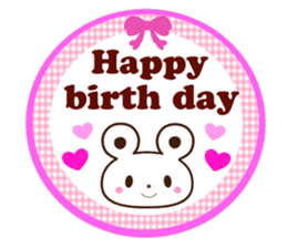 Good friend Animals for you in English sticker #7596179