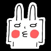สติ๊กเกอร์ไลน์ Brackets Rabbit