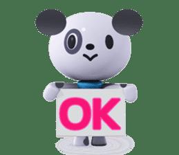 3D Dogs sticker #7604660