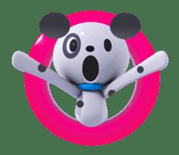 3D Dogs sticker #7604662