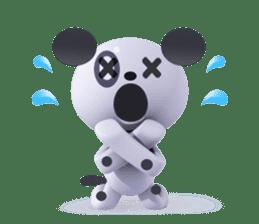 3D Dogs sticker #7604663