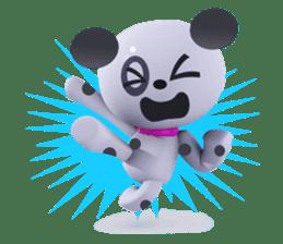 3D Dogs sticker #7604666