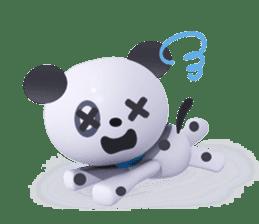 3D Dogs sticker #7604669