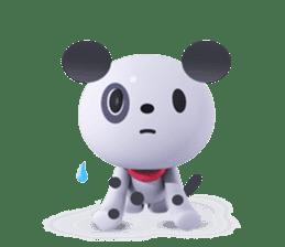 3D Dogs sticker #7604674