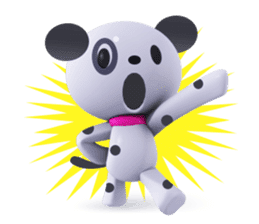 3D Dogs sticker #7604676