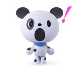 3D Dogs sticker #7604677