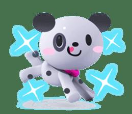 3D Dogs sticker #7604686