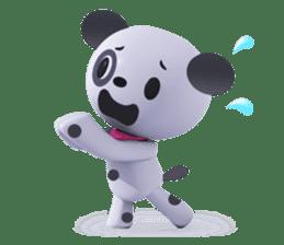 3D Dogs sticker #7604687