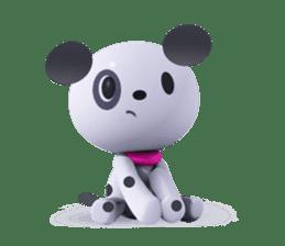 3D Dogs sticker #7604692