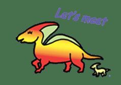Dinosaur Heaven sticker #7606140