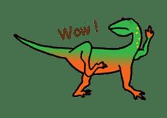 Dinosaur Heaven sticker #7606148