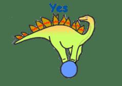 Dinosaur Heaven sticker #7606150