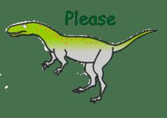 Dinosaur Heaven sticker #7606154