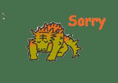 Dinosaur Heaven sticker #7606163
