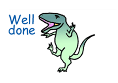 Dinosaur Heaven sticker #7606166