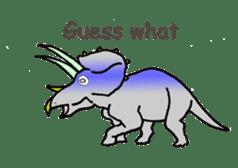 Dinosaur Heaven sticker #7606172