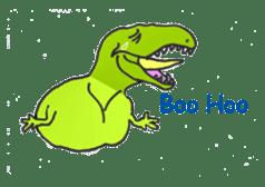 Dinosaur Heaven sticker #7606173