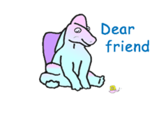 Dinosaur Heaven sticker #7606174