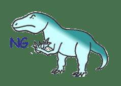 Dinosaur Heaven sticker #7606177