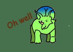 Dinosaur Heaven sticker #7606179